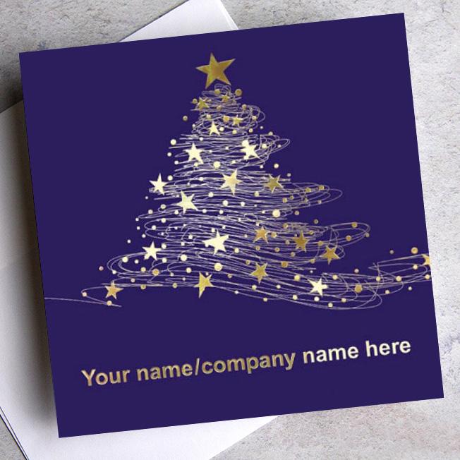 company name christmas card